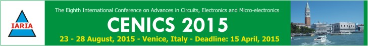CENICS' 2015 Conference