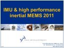 IMU & High Performance Inertial MEMS Market to 2015